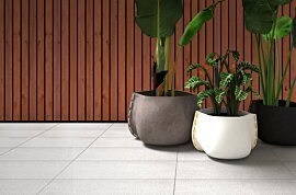Stitch 25 Plant Pot - In-Situ Image by Blinde Design