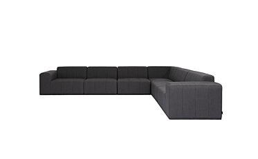 Connect Modular 6 L-Sectional Modular Sofa - Studio Image by Blinde Design