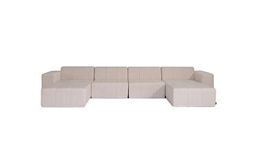 Connect Modular 6 U-Chaise Sectional Modular Sofa - Studio Image by Blinde Design