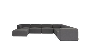 Relax Modular 7 U-Sofa Chaise Sectional Modular Sofa - Studio Image by Blinde Design