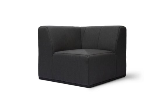 Connect C37 Modular Sofa - Sooty by Blinde Design