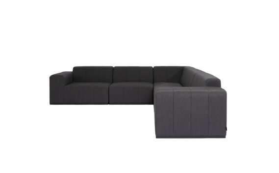 Connect Modular 5 L-Sectional Modular Sofa - Sooty by Blinde Design