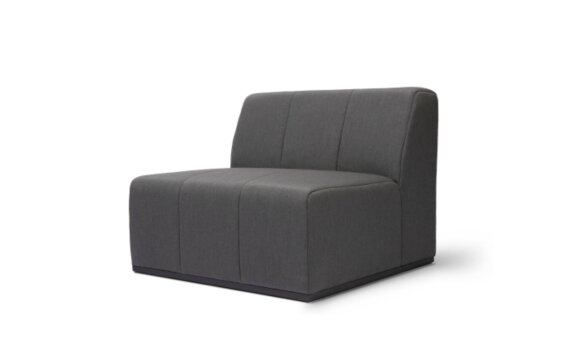 Connect S37 Modular Sofa - Flanelle by Blinde Design
