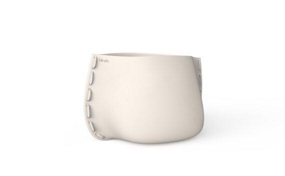 Stitch 75 Planter - Bone / White by Blinde Design