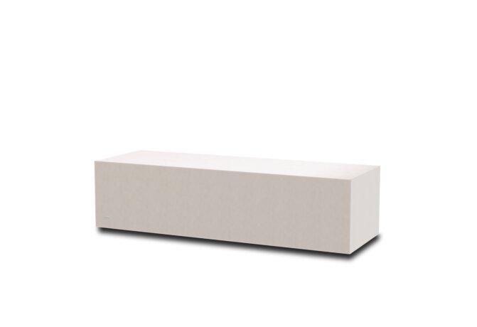 Bloc L2 Coffee Table - Ethanol / Bone by Blinde Design