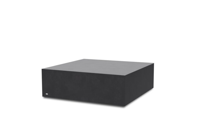 Bloc L4 Coffee Table - Ethanol / Graphite by Blinde Design
