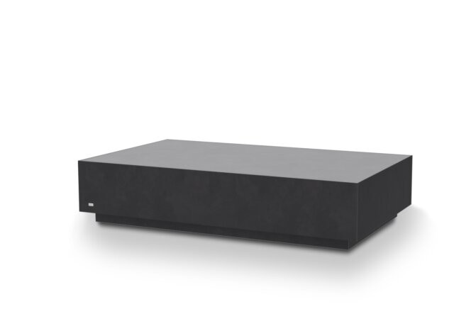 Bloc L6 Coffee Table - Ethanol / Graphite by Blinde Design