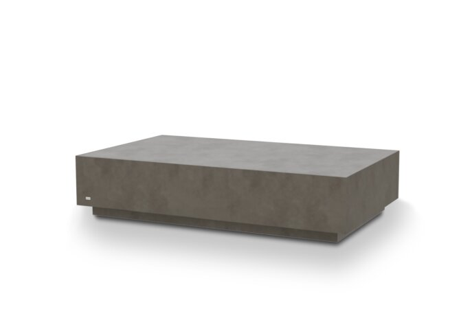 Bloc L6 Coffee Table - Ethanol / Natural by Blinde Design