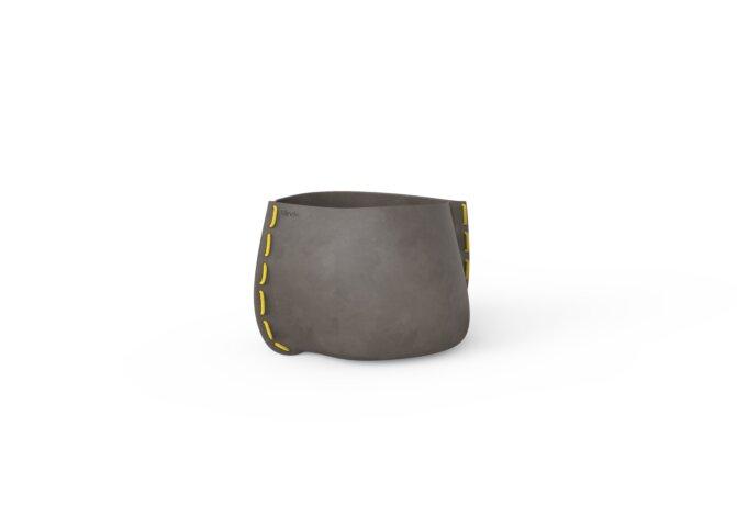 Stitch 25 Planter - Ethanol / Natural / Yellow by Blinde Design