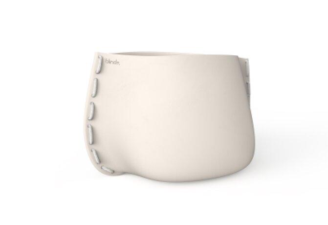 Stitch 125 Plant Pot - Ethanol / Bone / White by Blinde Design