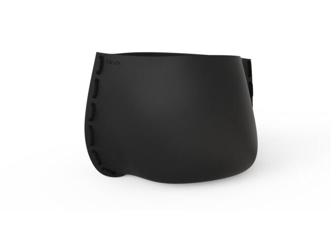 Stitch 125 Plant Pot - Ethanol / Graphite / Black by Blinde Design