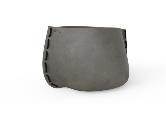 Stitch 125 Plant Pot - Ethanol / Natural / Black by Blinde Design