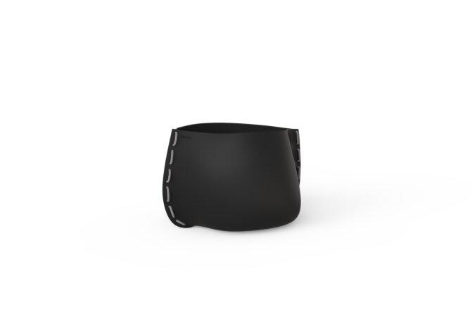 Stitch 25 Plant Pot - Graphite / Grey by Blinde Design
