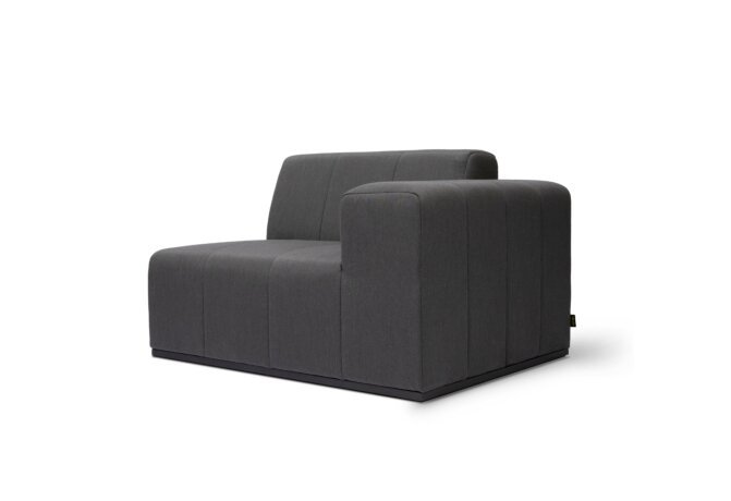 Connect R50 Modular Sofa - Flanelle by Blinde Design