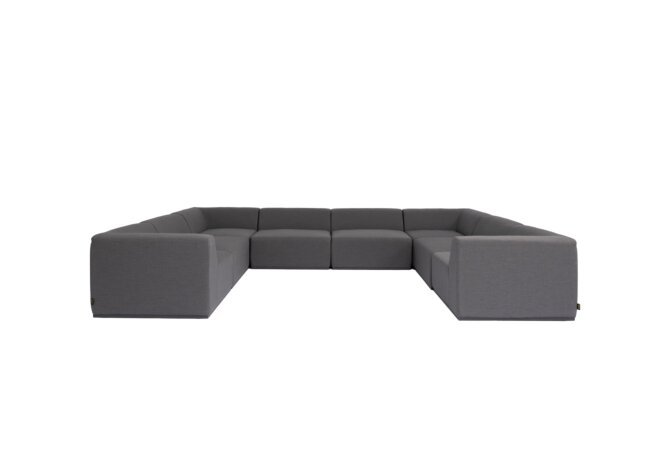Relax Modular 8 U-Sofa Sectional Modular Sofa - Flanelle by Blinde Design