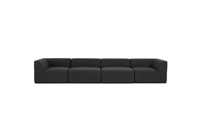Relax Modular 4 Sofa Modular Sofa - Sooty by Blinde Design