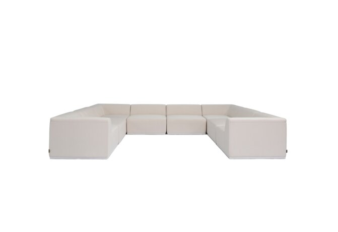 Relax Modular 8 U-Sofa Sectional Modular Sofa - Canvas by Blinde Design