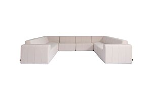 Connect Modular 8 U-Sofa Sectional Modular Sofa - Studio Image by Blinde Design