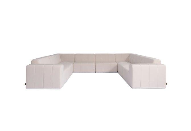 Connect Modular 8 U-Sofa Sectional Modular Sofa - Canvas by Blinde Design