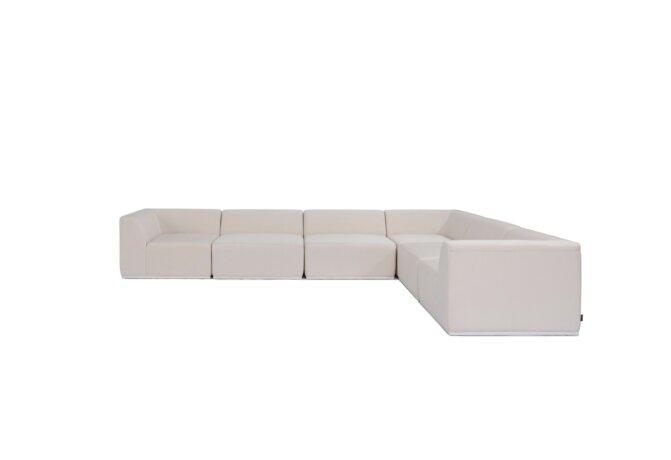 Relax Modular 6 L-Sectional Modular Sofa - Canvas by Blinde Design